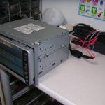 トヨタのカーナビ修理のために必要な12Vの電源をノートPCのACアダプターで自作する
