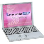 Let'snote CF-R1 メモリ増設(->384MB)